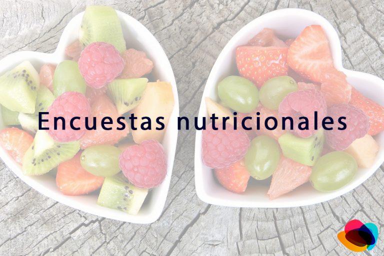 Encuestas nutricionales