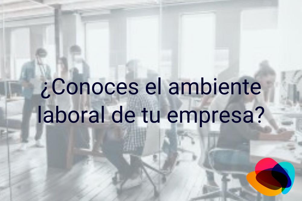 ▷¿Conoces el ambiente laboral de tu empresa?【E-nquest】